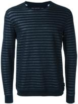 John Varvatos striped sweater