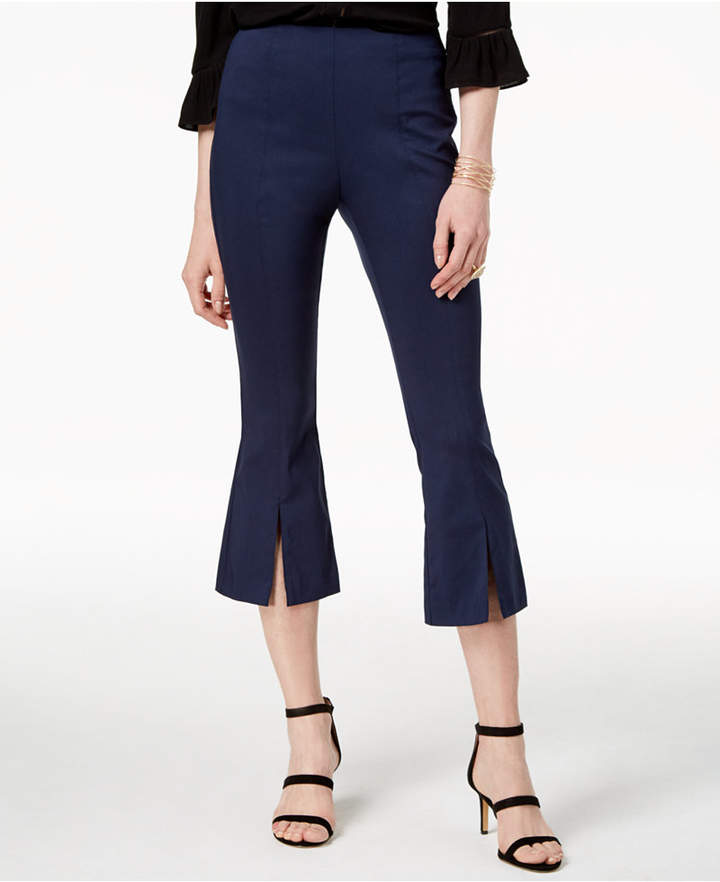 INC International Concepts I.n.c. Cropped Split-Hem Pants