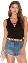 Lanston Lace Up Tank