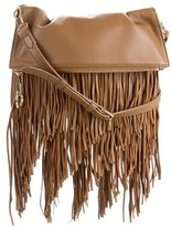 Elizabeth and James Leather Fringe-Trimmed Crossbody Bag