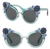 Miu Miu 52MM Crystal-Embellished Cats'-Eye Sunglasses