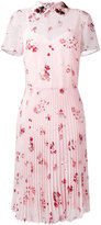 RED Valentino floral print shirt dress - women - Polyester/Viscose - 42