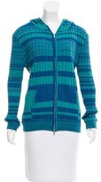 Baja East Hooded Knit Cardigan w/ Tags