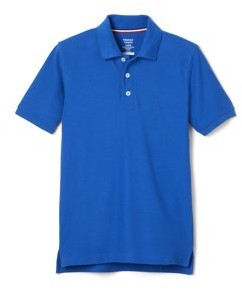 French Toast Boys School Uniform Short Sleeve Pique Polo Shirt, Sizes 4-20 & Husky
