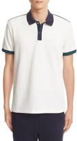 Moncler Men's Snap Placket Polo