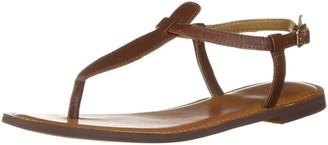 Amazon Brand - 206 Collective Women's Cameron Flat Thong Sandal
