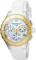 Technomarine Gold & Mother-of-Pearl Cruise Medusa Chronograph Watch