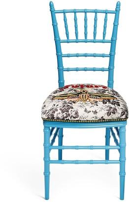 Gucci Chiavari embroidered chair