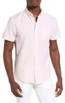 Original Penguin Men's Stripe Short Sleeve Oxford Shirt