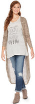 Wendy Bellissimo Maternity Open-Front Cardigan