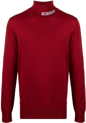 GCDS Turtleneck Wool Jumper