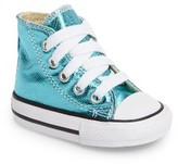 Converse Girl's Chuck Taylor All Star Metallic High Top Sneaker
