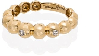 Rosa de la Cruz 18kt Diamond Ball Ring