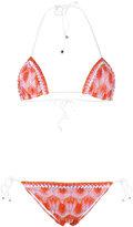 Missoni knitted geometric pattern bikini - women - Nylon/Polyester/Spandex/Elastane/Viscose - 40
