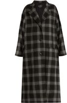 Isabel Marant Ina checked wool coat