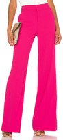 Alice + Olivia Dylan High Waist Wide Leg Pant