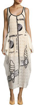 Stella McCartney Olwen Embroidered Lace Tank Dress, Off White