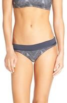 Maaji Women's Jacquard Furor Reversible Bikini Bottoms
