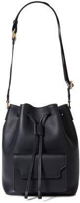 Marni Sac Trunk Pebbled-leather Bucket Bag