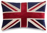 """Bed Bath & Beyond Union Jack 20"""" Decorative Toss Pillow"""