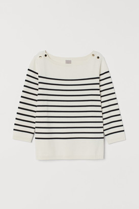 H&M Boat-neck jumper