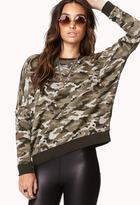 Forever 21 Sporty Camo Sweatshirt