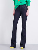 Fiorucci The Edie flared high-rise jeans