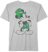 JEM Men's Mickey Mouse Shamrock St. Patty's Day T-Shirt