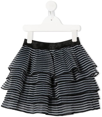 Little Marc Jacobs Micro-Pleated Frilled Skirt