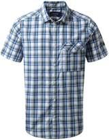 Craghoppers Men's Walkton Short Sleeved Check Shirt