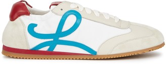 Loewe Ballet Runner White Panelled Sneakers