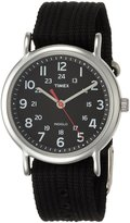 Timex Men's T2N647 Weekender Watch with Black Nylon Strap
