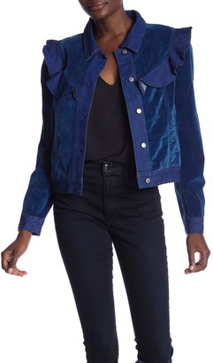 Sugar Lips Midnight Dreams Ruffle Jacket