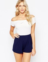 Love Cold Shoulder Romper