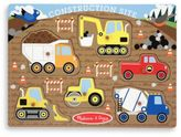 Melissa & Doug Construction Peg Puzzle
