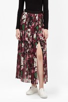 French Connection Bloomsbury Garden Pleated Maxi Skirt