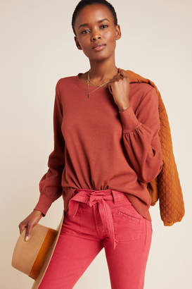 T.La Crowley Puff-Sleeved Pullover