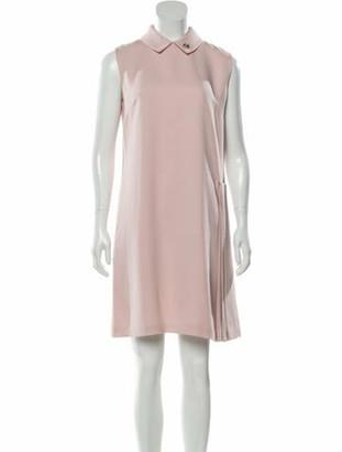 Christian Dior Knee-Length Dress Pink