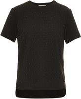 Balenciaga Studded short-sleeved top