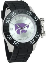 Game Time Men's COL-BEA-KSU Beast Analog Display Japanese Quartz Black Watch