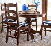 Pottery Barn Tivoli Fixed Pedestal Dining Table + 4 Wynn Side Chairs