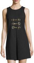 Julie Brown Felicia Sleeveless A-Line Dress, Black
