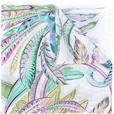 Roberto Cavalli leaf print scarf - women - Modal - One Size