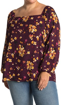 Gibson x International Women's Day Chelsea Square Neck Blouse (Plus Size)