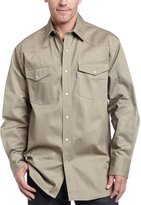 Carhartt Men's Ironwood Twill Work Shirt Snap Front Relaxed Fit
