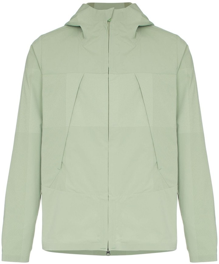 Descente Allterrain zipped hooded jacket