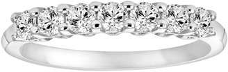Vera Wang Simply Vera 14k White Gold 1/3 Carat T.W. Diamond Wedding Band