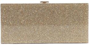 Halston Glittered Acrylic Box Clutch