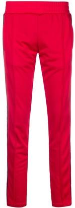 Chiara Ferragni Eye-Motif Straight Track Trousers