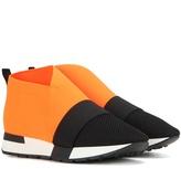 Balenciaga High-top Fabric Sneakers